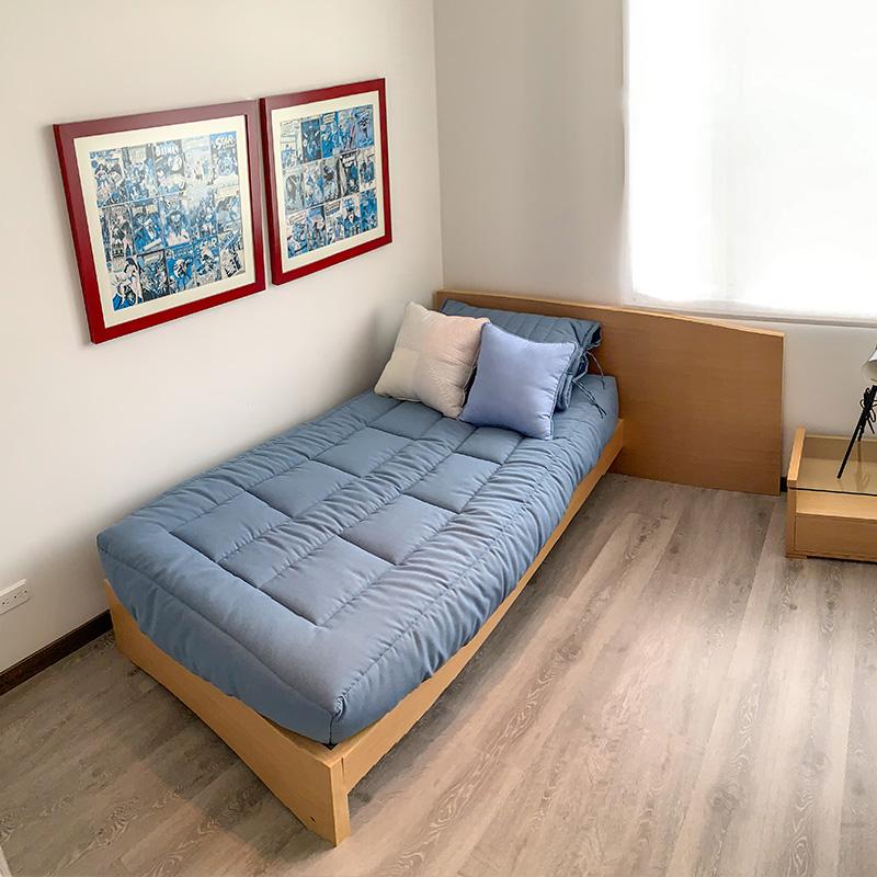 Habitación auxiliar en el apartamento del proyecto Ciudad Hayuelos Santiago de Tunja