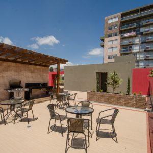 Día soleado en las terrazas de Ciudad Hayuelos Santiago de Tunja