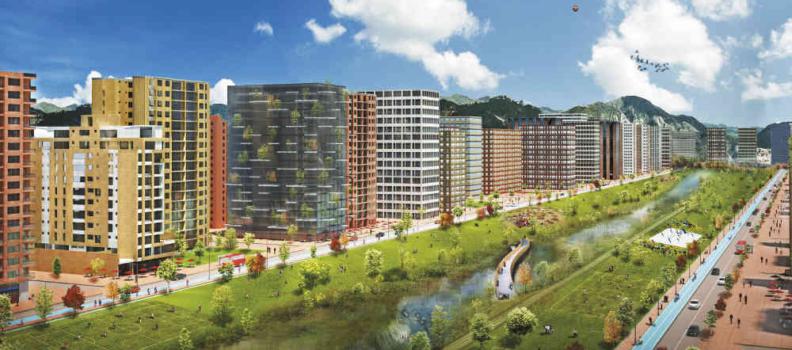 Una nueva ciudad para todos dentro de Bogotá, Lagos de Torca.