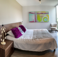 Habitación principal del apartamento modelo de Ciudad Hayuelos Santiago de Tunja
